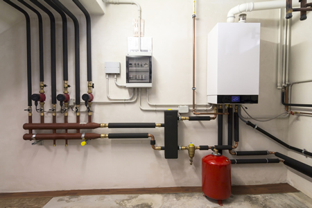 We install heating systems