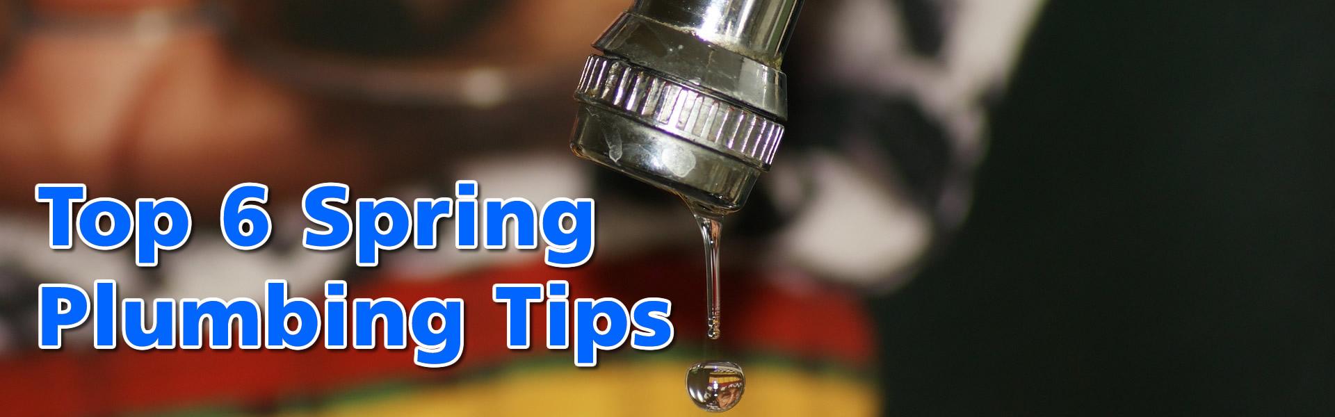 Top 6 Spring Plumbing Tips